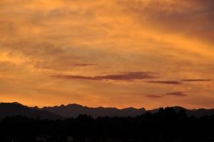 View of Front Range, Denver, CO