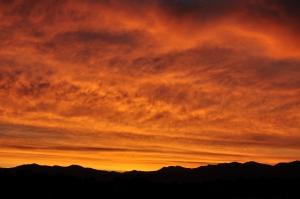 View of Front Range Denver, CO