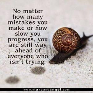 Slow Progress - Trying